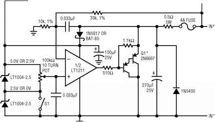 Constantvoltage Load Box For Battery Simulation