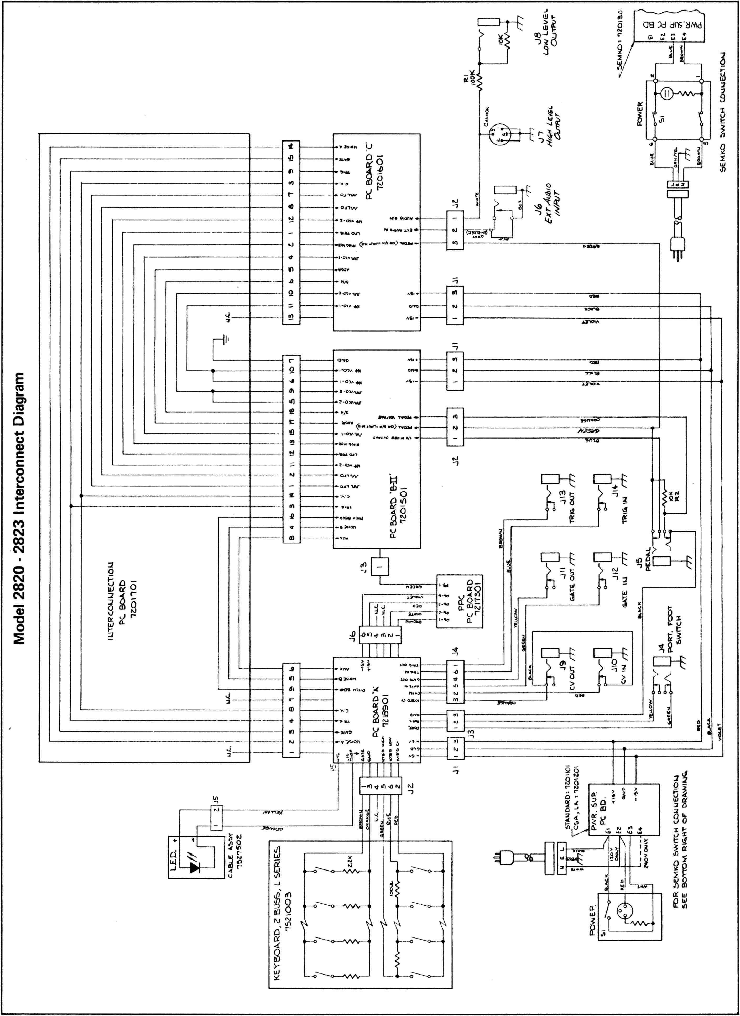 Assemblydissassembly Arp Odyssey Raynet Repair Services Wiring Diagram Jupiter Z1 Scph 1200 Controller Board