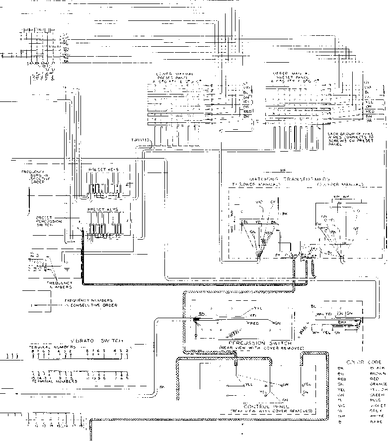 hammond organ wiring diagram   28 wiring diagram images