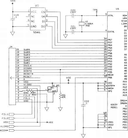 Digital Multimeter Schematic Diagram