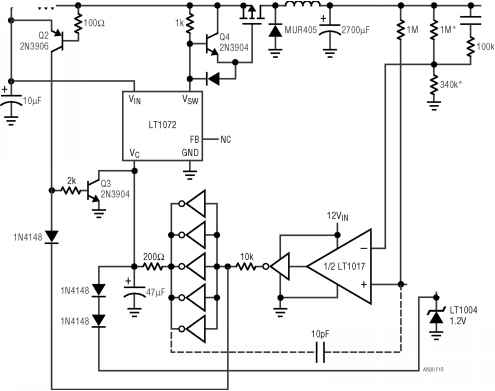 Single Inductor Buck Boost Converter