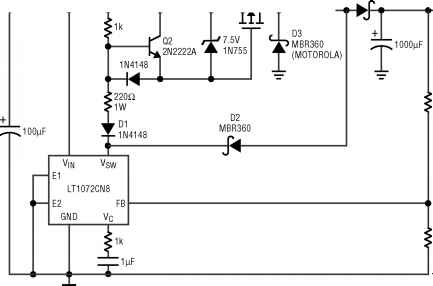 Positive Buck Boost Converter
