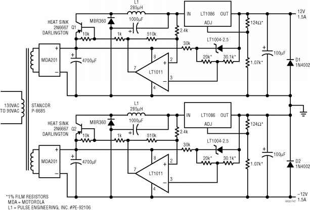 Switching Preregulator
