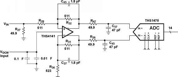 Differential Input Low Pass Filter