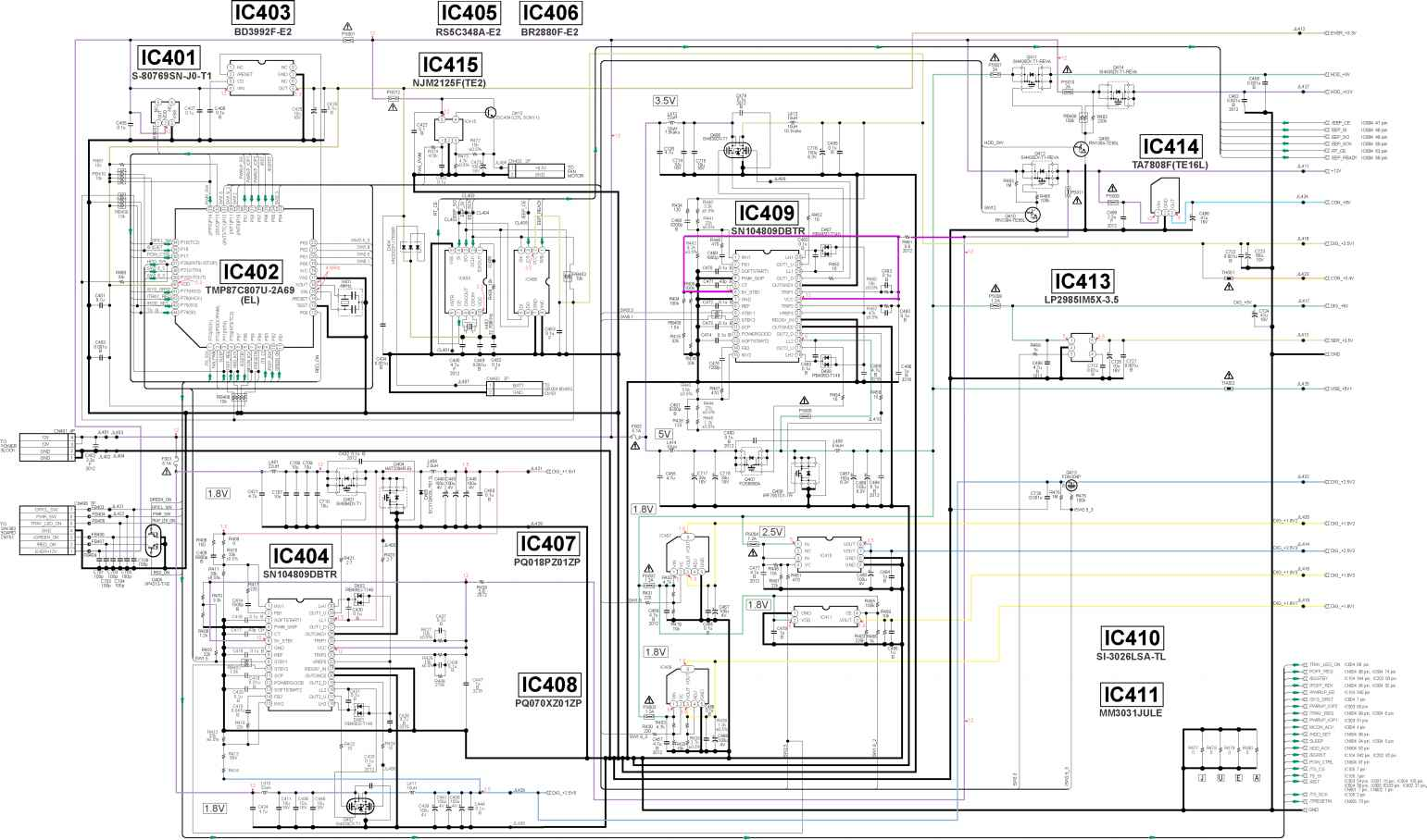 playstation 2 circuit diagram note 2 circuit diagram this note is common for printed wiring boards and ... #6