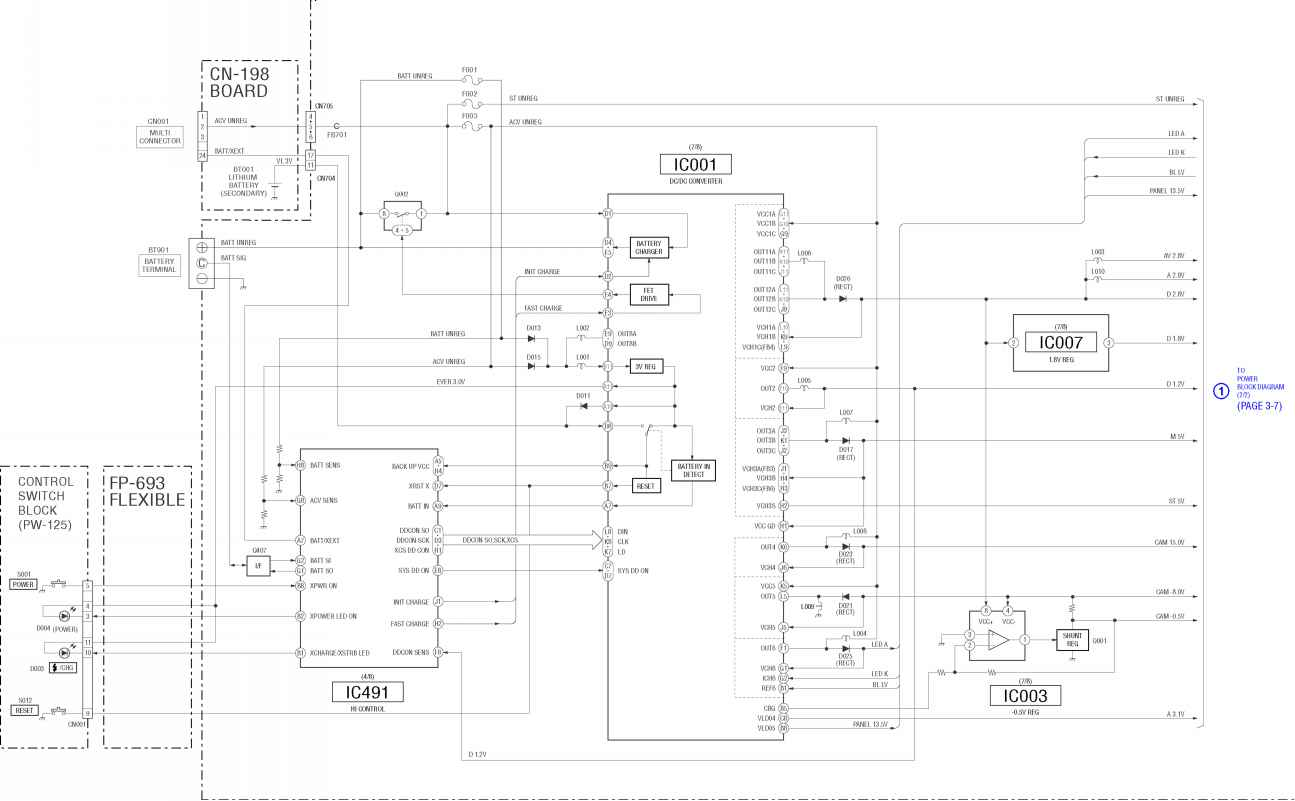 3 block diagrams sony dsc t1 raynet repair services rh raynetrepair us 2012 Explorer Wiring Diagram Camera Direct TV Wiring Diagram